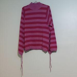 WARMEST Lambswool L/Sleeve Balloon Sweater KNIT